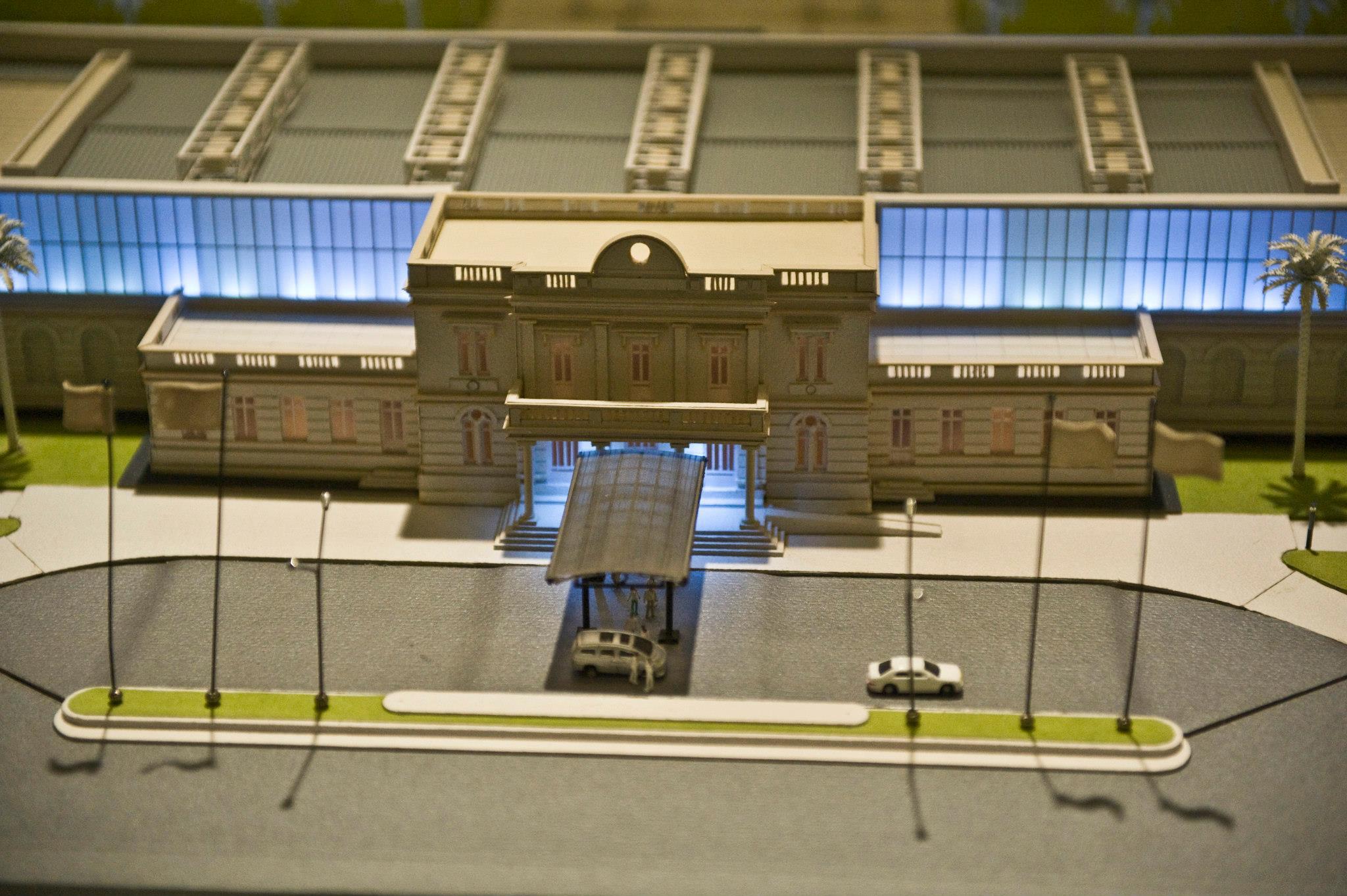 Sala Exposición Permanente de Maquetas a Escala Obras Infraestructura